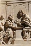 Loreta in Prague. Detail of the marian pilgrimage site of Loreta in Prague Royalty Free Stock Photography