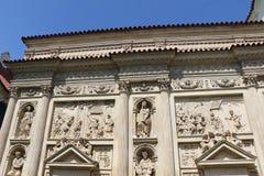 Loreta in Prague. Detail of the marian pilgrimage site of Loreta in Prague Royalty Free Stock Images