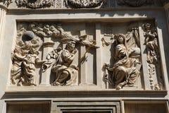 Loreta in Prague. Detail of the marian pilgrimage site of Loreta in Prague Stock Photos