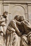 Loreta in Prague. Detail of the marian pilgrimage site of Loreta in Prague Royalty Free Stock Photo