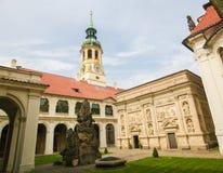 Loreta, Prague. Famous Santa Casa at Loreta, a large pilgrimage destination in Hradcany, a district of Prague, Czech Republic Stock Photo
