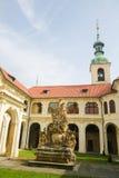 Loreta, Prague. Loreta, a large pilgrimage destination in Hradcany, a district of Prague, Czech Republic Royalty Free Stock Photography