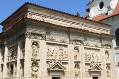 Loreta in Prague. The marian pilgrimage site of Loreta in Prague Stock Images