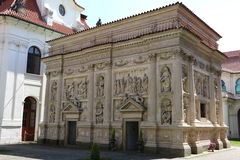 Loreta in Prague. The marian pilgrimage site of Loreta in Prague Royalty Free Stock Photo