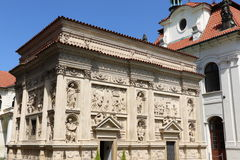 Loreta in Prague. The marian pilgrimage site of Loreta in Prague Stock Image