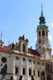 Loreta in Prague. The marian pilgrimage site of Loreta in Prague Stock Photo