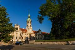 Loreta in Prague Praha. Lorentanske Namesti, Loreta church in Prague Stock Photography
