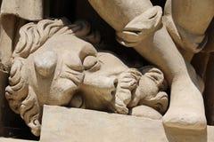 Loreta in Prague. Statue of the marian pilgrimage site of Loreta in Prague Royalty Free Stock Photo