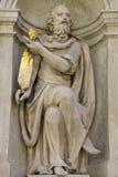 Loreta in Prague. Statue of the marian pilgrimage site of Loreta in Prague Stock Photos