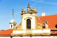 Loreta. The religious palace loreta in prague, czech republic Royalty Free Stock Photography