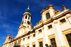 Loreta. The religious palace Loreta in prague, czech republic Royalty Free Stock Image