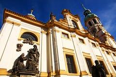 Loreta. The religious palace loreta in prague, czech republic Royalty Free Stock Images