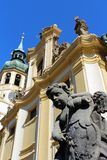 Loretaen i Prague, Tjeckien arkivbild