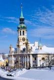 Loretakerk, Hradcany, Praag, Tsjechische republiek Stock Afbeelding