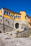 Loreti Palace. Satriano di Lucania. Italy. Stock Photo