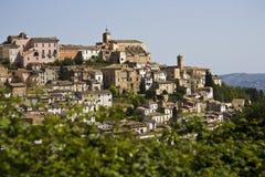 Loreto Aprutino, Abruzzo, Italien Stockbilder