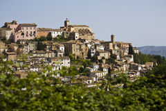 Loreto Aprutino, Abruzzo, Italy. Image of a country in central Italy Stock Images