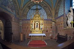 The Loreto Chapel in Matthias Church in Budapest, Hungary Royalty Free Stock Photos