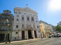Loreto church in Bairro Alto, Lisbon, Portugal Stock Photo