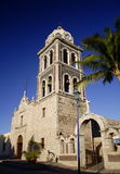 Loreto mission. View of the church of the ancient mission of loreto, in baja california sur, mexico Royalty Free Stock Photo