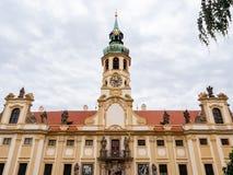 Loreto Monastery en el castillo de Praga fotos de archivo