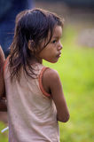 LORETO PERU, STYCZEŃ, - 02: Niezidentyfikowany miejscowych dzieciaków pozować Zdjęcia Stock