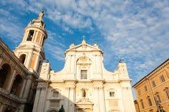 Loreto sikt, Marche, Italien Fotografering för Bildbyråer