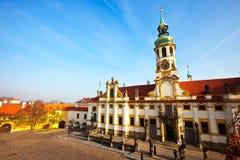 Loretta Church In Prague Royalty Free Stock Photos