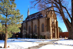 Loretto chapel Stock Photo