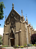 Loretto Chapel - Santa Fe, New Mexico Royalty Free Stock Photography