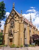 Loretto kapell i Santa Fe som är ny - Mexiko Arkivfoton