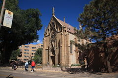 Loretto kapell - Santa Fe som är ny - Mexiko Royaltyfria Foton