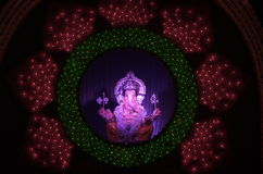 Lorg Ganesh festival lighting Royalty Free Stock Image
