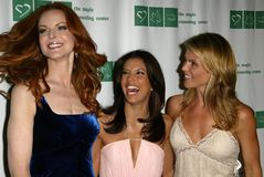 Lori Loughlin,Marcia Cross,Eva Longoria Royalty Free Stock Image