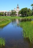 Loring park in Minneapolis Royalty Free Stock Image