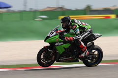 Loris Baz - Kawasaki ZX-10R Racing Team Royalty Free Stock Image