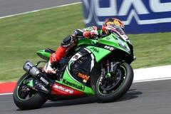 Loris Baz #76 on Kawasaki ZX-10R Kawasaki Racing Team Superbike WSBK Stock Images