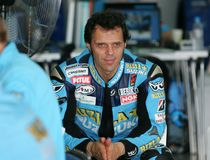 Loris Capirossi Fotos de Stock Royalty Free