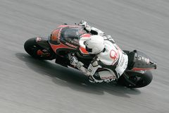 Loris Capirossi of Italy at Sepang, Malaysia Royalty Free Stock Photography