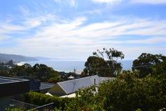 Costa costa de Lorne Fotografía de archivo libre de regalías