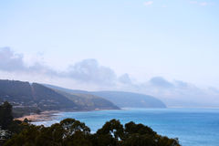 Lorne Coastline Royalty Free Stock Photos