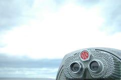 lornetka ukuwają działają monet Zdjęcie Royalty Free