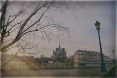 lornetki ukuwać nazwę De Fayette France galerii wysokiego los angeles działającego nad Paris w górę widok Obrazy Stock