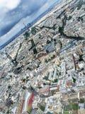 lornetki ukuwać nazwę De Fayette France galerii wysokiego los angeles działającego nad Paris w górę widok Zdjęcia Royalty Free