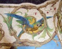 Loro Tesselated en el palacio de Ragaleira Foto de archivo libre de regalías