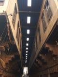 Lorong dziejowy budynek w Egypt Obraz Royalty Free
