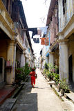 Lorong Panglima. Is located in Ipoh Old Town, Perak, Malaysia and formerly known as Concubine Lane Royalty Free Stock Photo