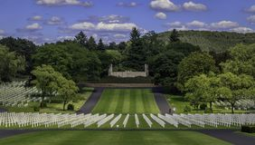 Lorraine American Cemetery & Memorial Royalty Free Stock Photography