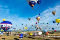 Lorraine Mondial Air Balloon 2015 Stockfotos