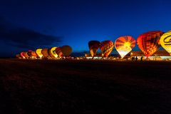 Lorraine Mondial Air Balloon 2015 Photos stock